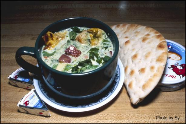 Cream of Spinach and Artichoke Soup My Way