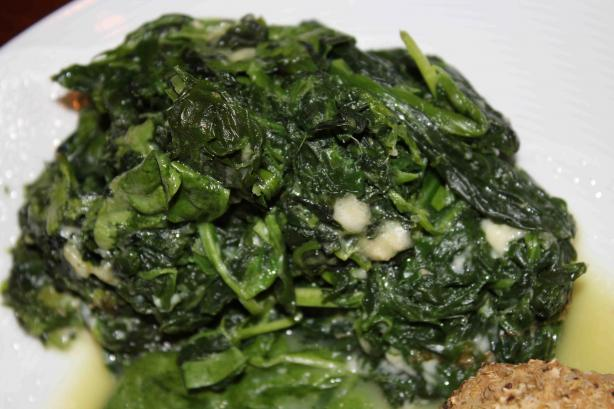 Spinach Casserole (Creamed)