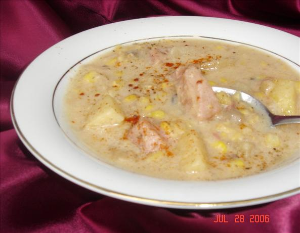Ham, Corn, and Potato Chowder