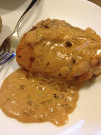 Paprika Huhn (Chicken in Paprika Sauce).