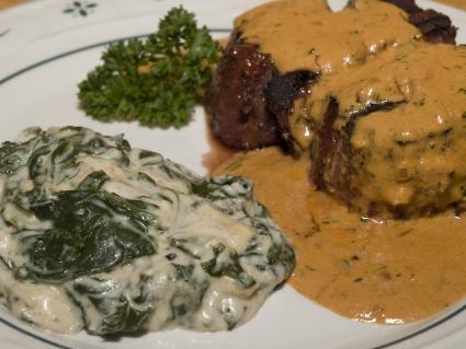 Dijon Creamed Spinach