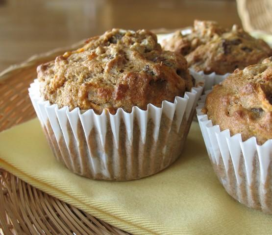 Low Fat Morning Glory Muffins
