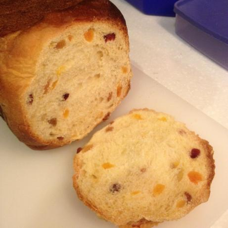 Panettone Christmas Bread for the Bread Machine