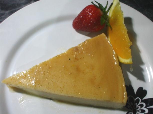 Cream Cheese Flan