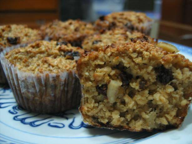 Oatmeal Muffins (No Flour at All!)