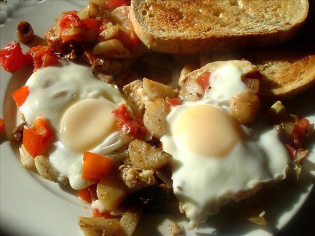 Brunch Eggs and Veggies