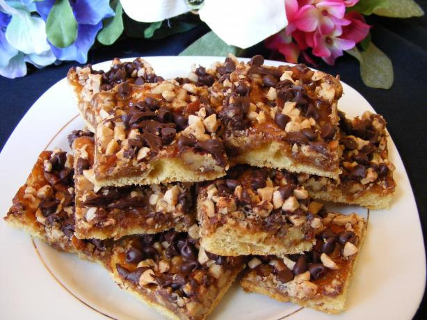 Easy Toffee Bars