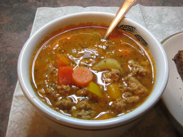 Jason's Hamburger Soup