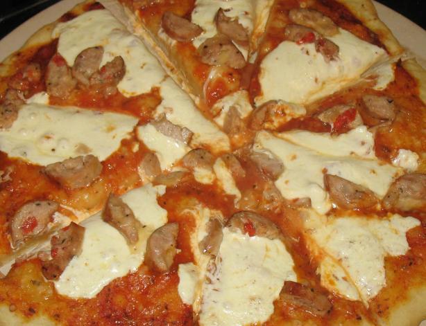 Basil & Garlic Pizza Dough (Abm)