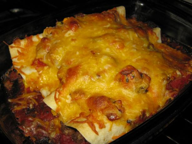 Breakfast Enchilada Ranchero