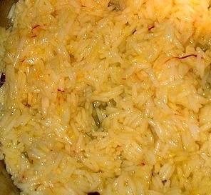 Traditional Bahraini Muhammar - Sweet Rice Dish