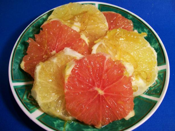 Sliced Oranges in Syrup