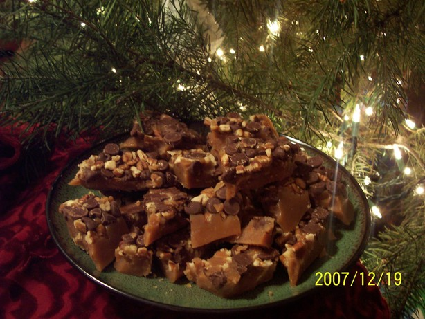 My Favorite Buttery Toffee