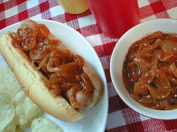 Hot Dog Onion Sauce