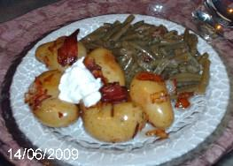 Vannisa's Twice Cooked New Potatoes