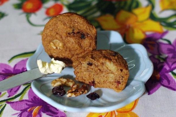 Kittencal's Fat-Free Bran Muffins