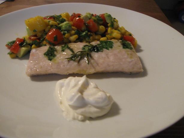 Grilled Mahi-Mahi with Mango Habanero Salsa