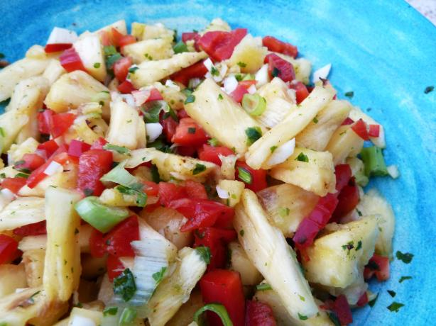 Maui Gold Pineapple Salsa: