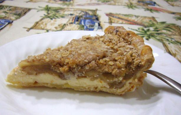 Apple-Cream Cheese Pie