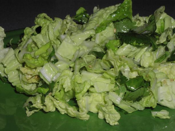 Cabbage and Sesame Slaw