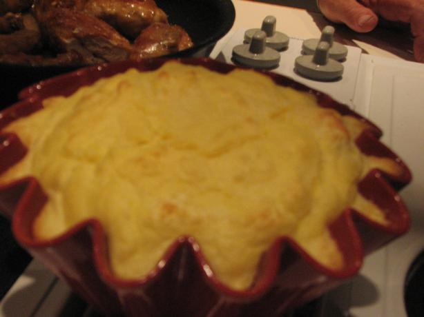 Mommom's Potato Parmesan Souffle