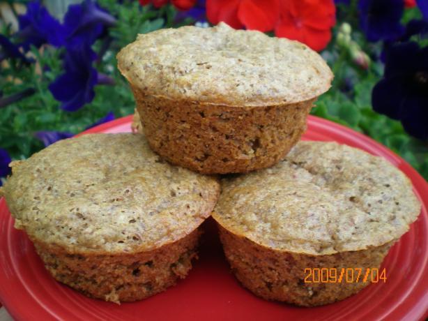 Flax Seed-Bran Muffins