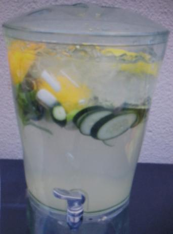 Cucumber Water Recipe