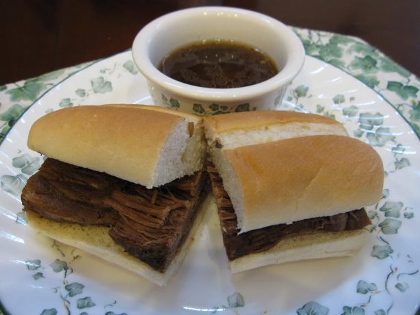 Crock Pot Beef Sandwiches Au Jus
