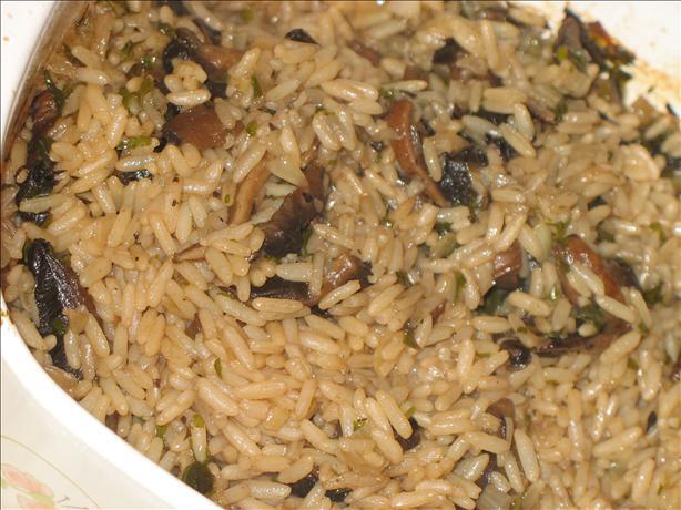 Mushroom and Rice Casserole