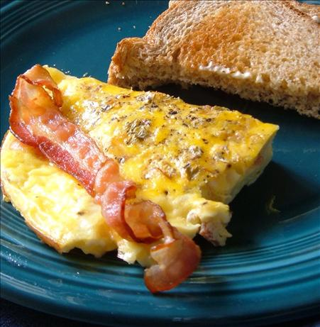 Bacon and Cheese Omelet