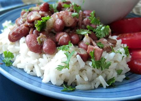 """the Gumbo Pages"" Traditional Red Beans and Rice"