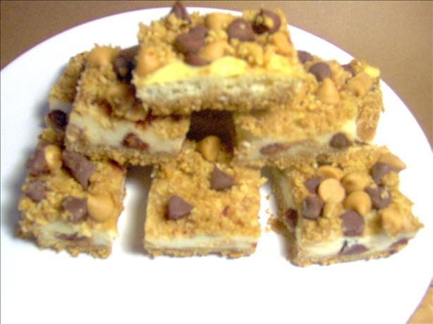 Choco-Peanut Butter Cheesecake Bars