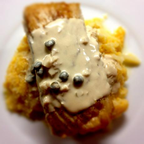 Mahi Mahi in Caper Garlic Cream Sauce