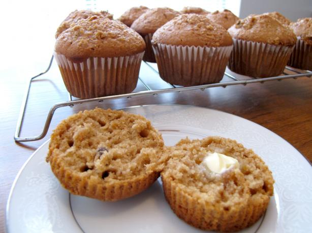 Raisin Maple Muffins