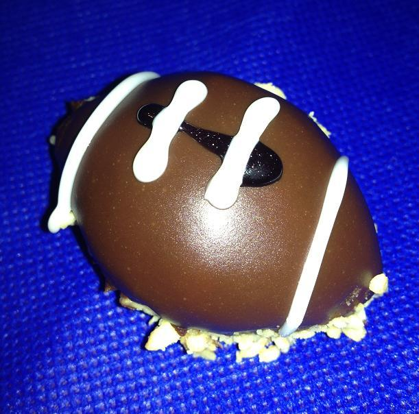 Football Peanut Butter Balls
