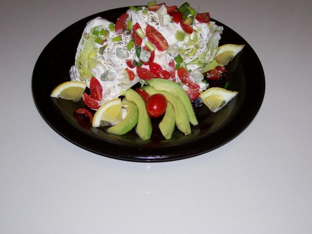 Basic Bleu Cheese Salad Wedge