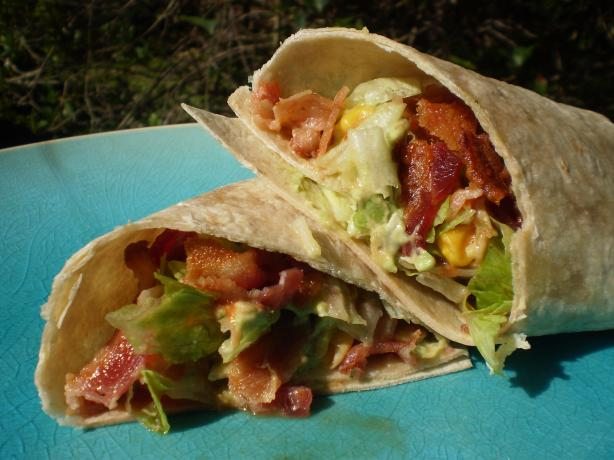 Southwest BLT Wrap