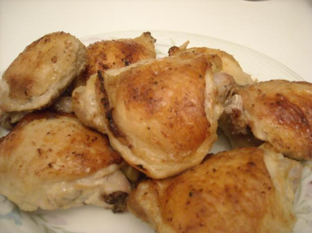 Garlic & Lemon Roast Chicken Thighs