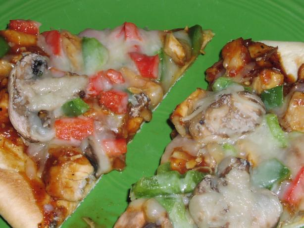 Low Fat Barbecue Chicken Pizza