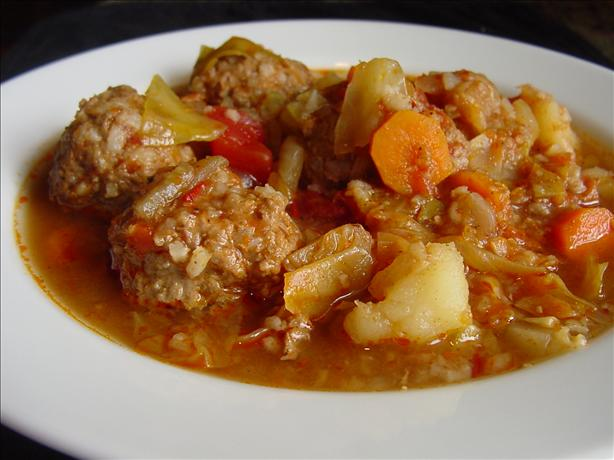 Meatball Soup (Sopa De Albondigas)