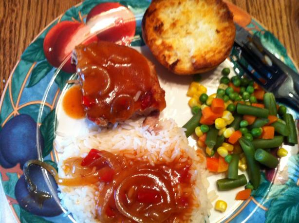 Slow Cooked Pork Chop Dinner