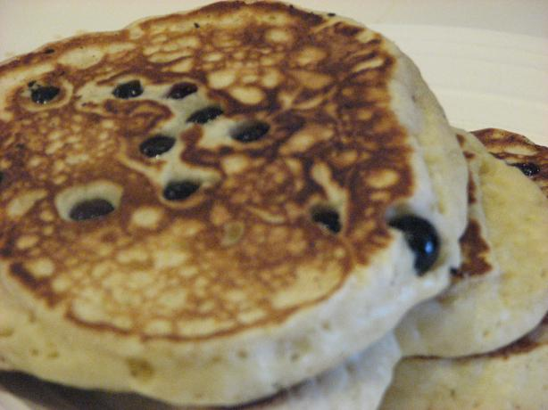 Crazy Delicious Blueberry Pancakes