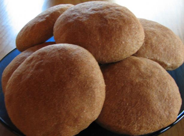 Mom's 100% Whole Wheat Air Buns (Rolls) for Abm