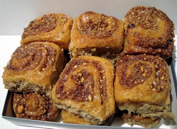 Healthy Whole Wheat Cinnamon Buns - Abm Dough