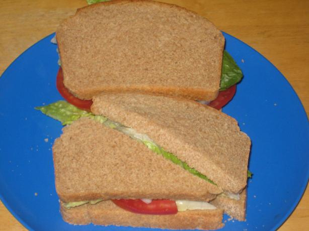 Light and Healthy 100% Whole Wheat Bread