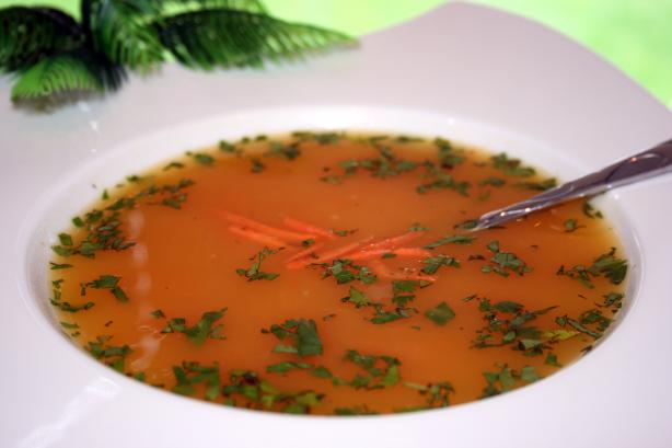 Curried Carrot and Coriander Soup