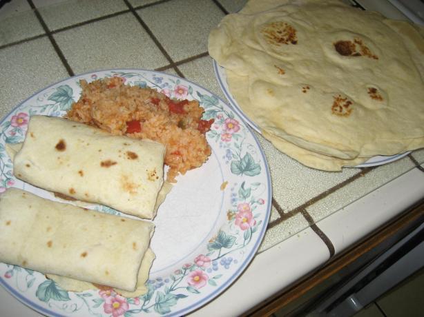 Aunt Sharleen's Flour Tortilla Receipe# 1