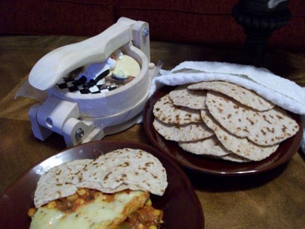 Chewy Flour Tortillas