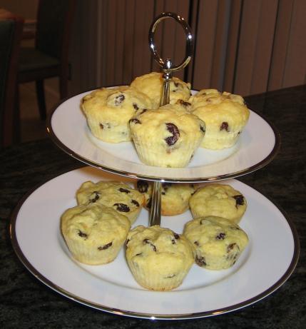 Dried Cherry Almond Muffins