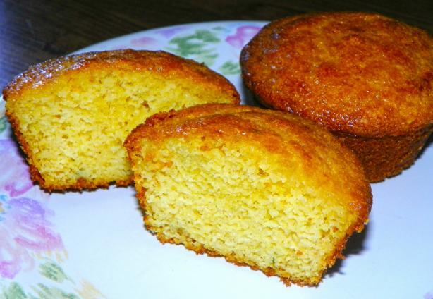 Honey-Thyme Cornbread Muffins
